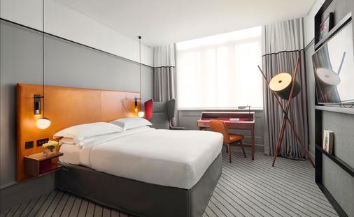利物浦街安达仕酒店 - 伦敦 - 睡房