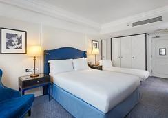 伦敦华尔道夫希尔顿酒店 - 伦敦 - 睡房