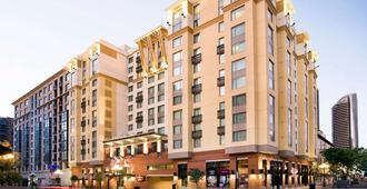 圣地亚哥市中心/瓦斯灯街区万豪居家酒店 - 圣地亚哥 - 建筑
