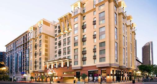 圣地亚哥市中心/瓦斯灯街区万豪酒店 - 圣地亚哥 - 建筑