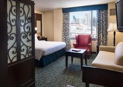 圣地亚哥市中心/瓦斯灯街区万豪酒店 - 圣地亚哥 - 睡房