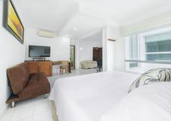 珊瑚礁酒店 - 卡塔赫纳 - 睡房