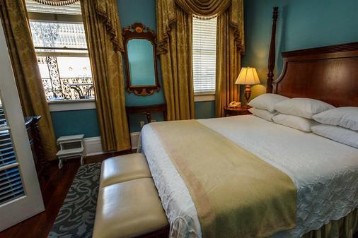 马歇尔豪斯酒店 - 萨凡纳 - 睡房