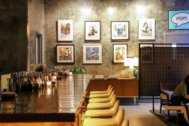 托米哈德森广场酒店 - 纽约 - 酒吧