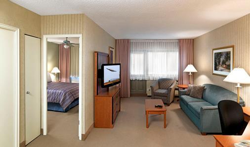 公寓酒店 - 蒙特利尔 - 客厅