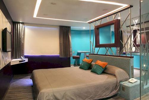 塔库巴亚酒店 - 墨西哥城 - 睡房