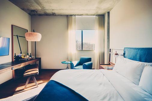 南国会区酒店 - 奥斯汀 - 睡房