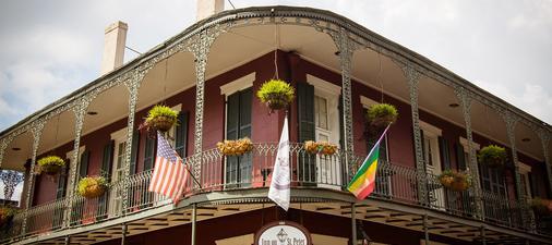 法国区圣彼得旅馆 - 新奥尔良 - 建筑
