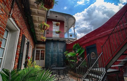法国区圣彼得旅馆 - 新奥尔良 - 露台