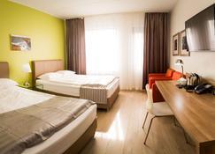 奥罗拉星机场酒店 - 凯夫拉维克 - 睡房