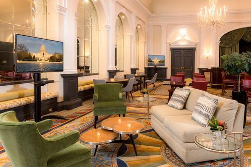 华盛顿使馆区费尔法克斯酒店 - 华盛顿 - 休息厅