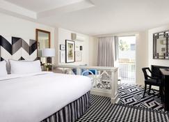张伯伦西好莱坞酒店 - 西好莱坞 - 睡房