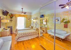 国际舒适客栈 - 纽约 - 睡房