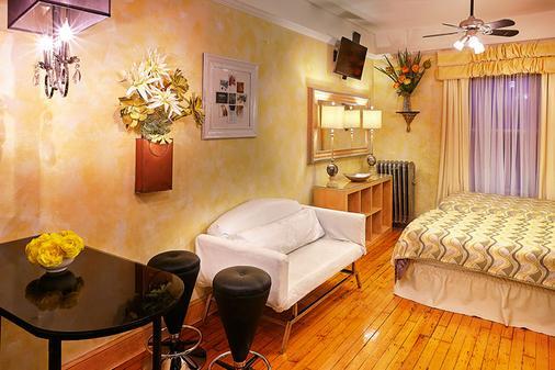 国际舒适客栈 - 纽约 - 客厅