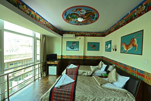 加德满都生态酒店 - 加德满都 - 睡房