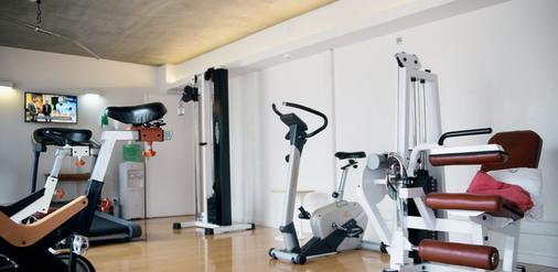 欧恩格兰德帕勒莫苏豪酒店 - 布宜诺斯艾利斯 - 健身房