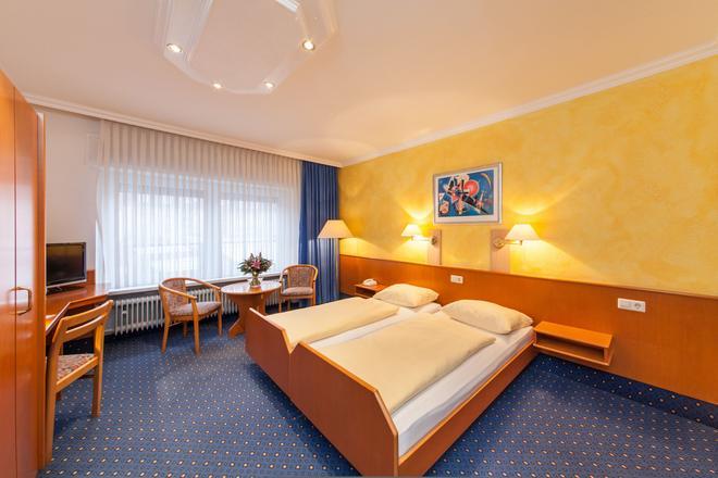 格雷夫酒店 - 卡尔斯鲁厄 - 睡房