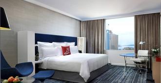 悉尼港万豪酒店 - 悉尼 - 睡房