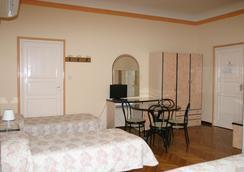 阿尔伯格全景旅馆 - 博洛尼亚 - 睡房