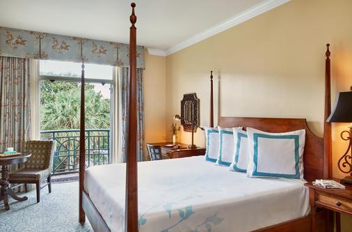 海港景酒店 - 查尔斯顿 - 睡房