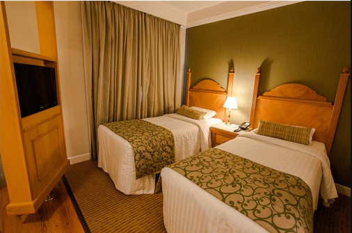 伊斯坦广场酒店 - 圣保罗 - 睡房