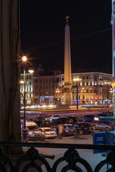 中心酒店 - 圣彼德堡 - 阳台