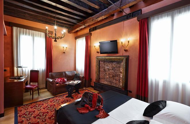 萨图瑞尼亚国际酒店 - 威尼斯 - 睡房