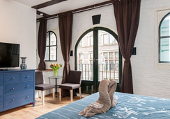 Crown Bed and Breakfast Amsterdam - 阿姆斯特丹 - 睡房