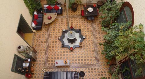 里亚德约曼那酒店 - 马拉喀什 - 门厅