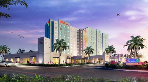 迈阿密海豚购物中心希尔顿花园酒店 - 迈阿密 - 建筑