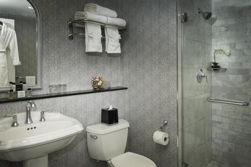 纽约曼哈顿俱乐部酒店 - 纽约 - 浴室