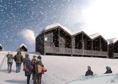 北极星酒店 - 萨利色尔卡 - 户外景观