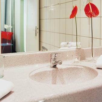 弗洛特尔杜伊斯堡索拉塔酒店 - 杜伊斯堡 - 浴室