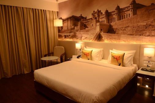 斋浦尔水之宫殿摄政中心酒店 - 斋浦尔 - 睡房