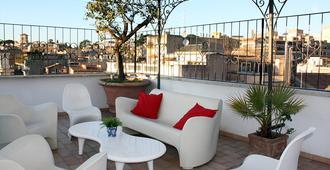 罗马特雷维度假酒店 - 罗马 - 阳台