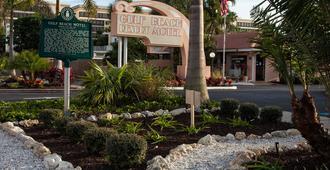 海湾海滩度假村汽车旅馆 - 萨拉索塔 - 建筑