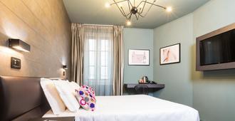 佛罗伦萨葛洛波斯酒店 - 佛罗伦萨 - 睡房