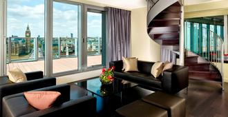 伦敦威斯敏斯特桥公园广场酒店 - 伦敦 - 客厅