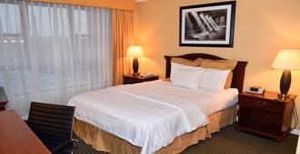 花园套房酒店 - Jfk - 皇后区 - 睡房