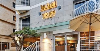沙威海边酒店 - 特拉维夫 - 建筑