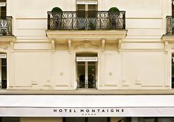 蒙田酒店 - 巴黎 - 建筑