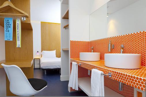 马德里布尔塔旅馆 - 马德里 - 睡房