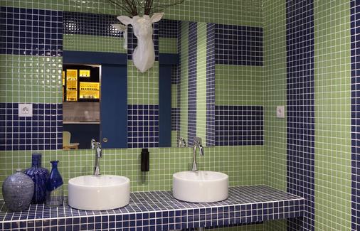马德里布尔塔旅馆 - 马德里 - 浴室