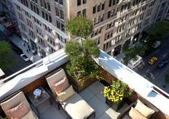 罗杰威廉姆斯酒店 - 纽约 - 露天屋顶