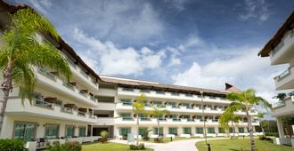 格兰埃斯梅拉达兰湾酒店-型 - 卡门海滩 - 建筑