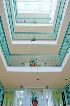 伊波利泰纳布鲁贝公寓式酒店 - 墨西哥城 - 门厅