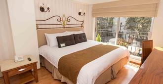 坦尼森蓝湾遗产公寓式酒店 - 墨西哥城 - 睡房