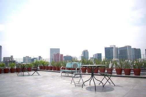 布鲁贝俄克拉荷马遗产住宿公寓 - 墨西哥城 - 露天屋顶