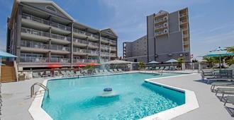 指挥官海滩别墅酒店 - 大洋城 - 游泳池