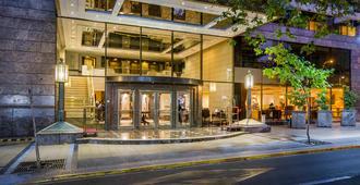 埃布罗河森林广场酒店 - 圣地亚哥 - 建筑